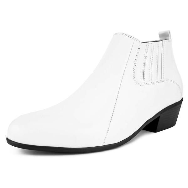 mens low cut dress boots