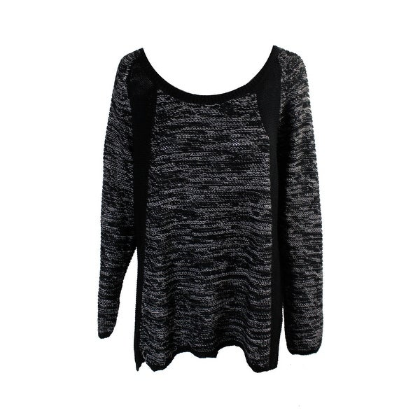 7fdf21e98a Shop City Chic Plus Size Black Contrast Raglan-Sleeve Sweater XS-14W ...