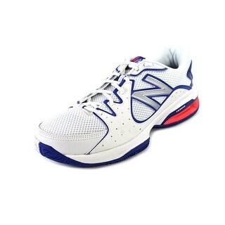 New Balance WC786 Women Round Toe Leather White Tennis Shoe