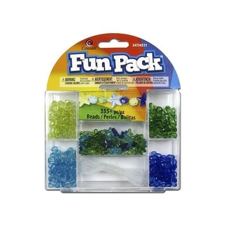 Cousin Fun Pack Kit Bead Star Blue/Green
