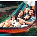 Sunnydaze Multi-Colored Mayan Hammock - Thumbnail 5