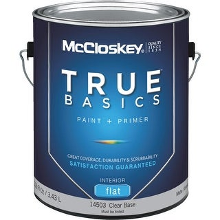 McCloskey Int Flat Clear Bs Paint