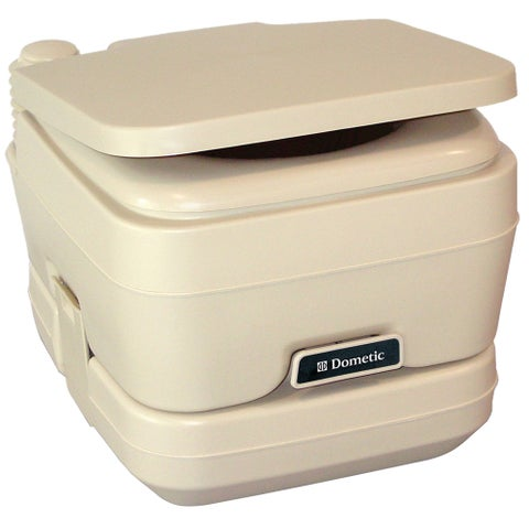 Dometic corporation dometic 964 msd portable toilet 2.5 gal parchment 311196402