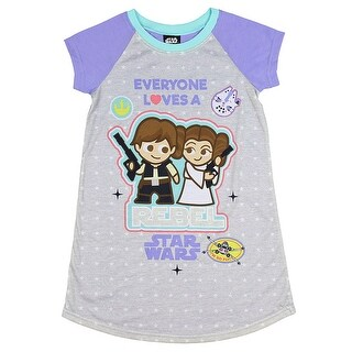 Star Wars Girls' Everyone Loves A Rebel Nightgown