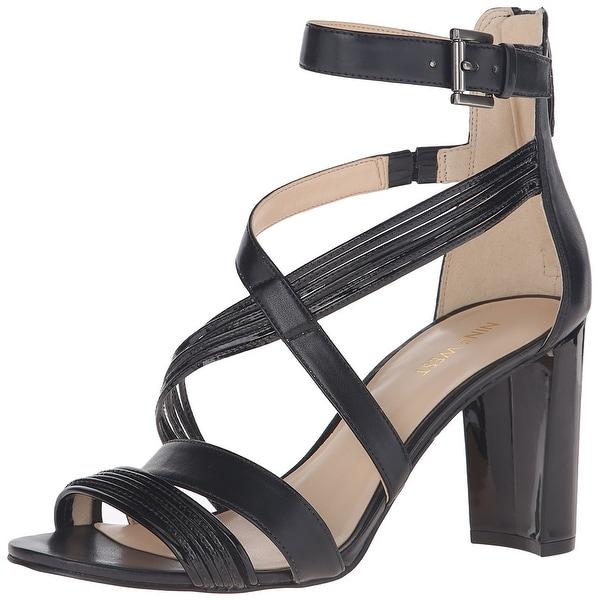 Nine West Womens Norita Open Toe Formal Ankle Strap Sandals