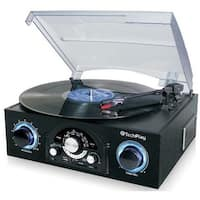 TechPlay TCP5 Turntable with pitch control, AM/FM Radio, SD USB