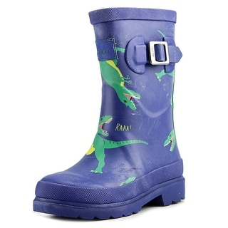 Joules Junior Boys Welly Toddler Round Toe Synthetic Multi Color Rain Boot