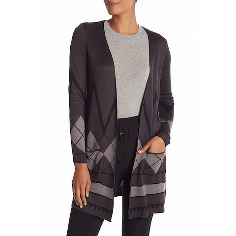 Joseph A Gray Womens Size Small S Double Knit Duster Cardigan