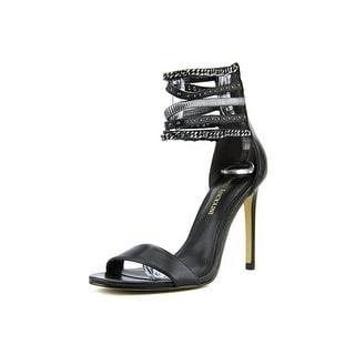 Enzo Angiolini Babecca Women Open Toe Leather Sandals