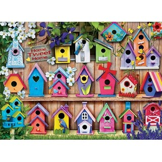 Euro Graphics Home Tweet Home - 1000 Piece, Pack of 11
