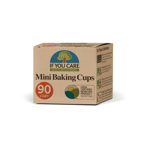 If You Care Baking Cups - Mini - Unbleached Totally Chlorine Free - 90 Count