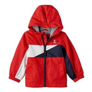 London Fog Boys 12-24 Months Light Weight Spring Jacket - Red