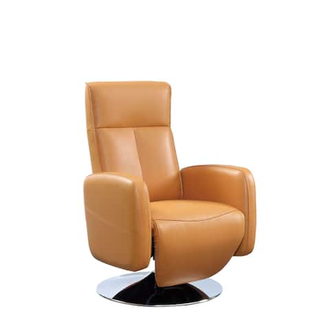 Milan Top Grain Leather Ergonomic 2-Motor Powered Recliner