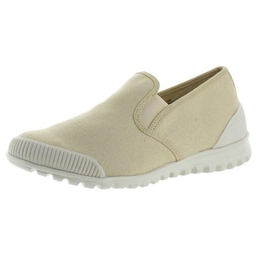 b101dd45d4782 Cougar Snap Women's Slip On Canvas Sneakers Shoes Memory Foam