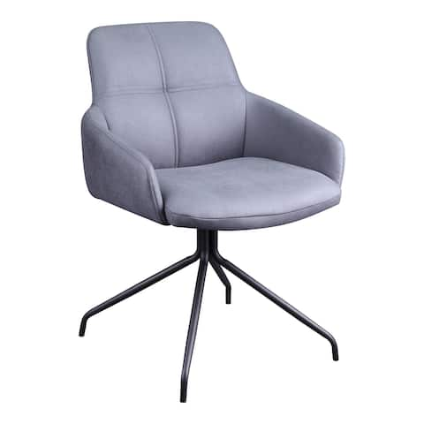Aurelle Home Modern Upholstered Swivel Office Chair