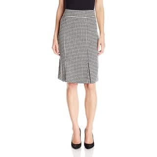 Kasper NEW Black Classic Houndstooth Women Size 8 Straight Pencil Skirt|https://ak1.ostkcdn.com/images/products/is/images/direct/2e1369d657008dbefc8fb9ab00b9a3a379a20b6c/Kasper-NEW-Black-Classic-Houndstooth-Women-Size-8-Straight-Pencil-Skirt.jpg?impolicy=medium