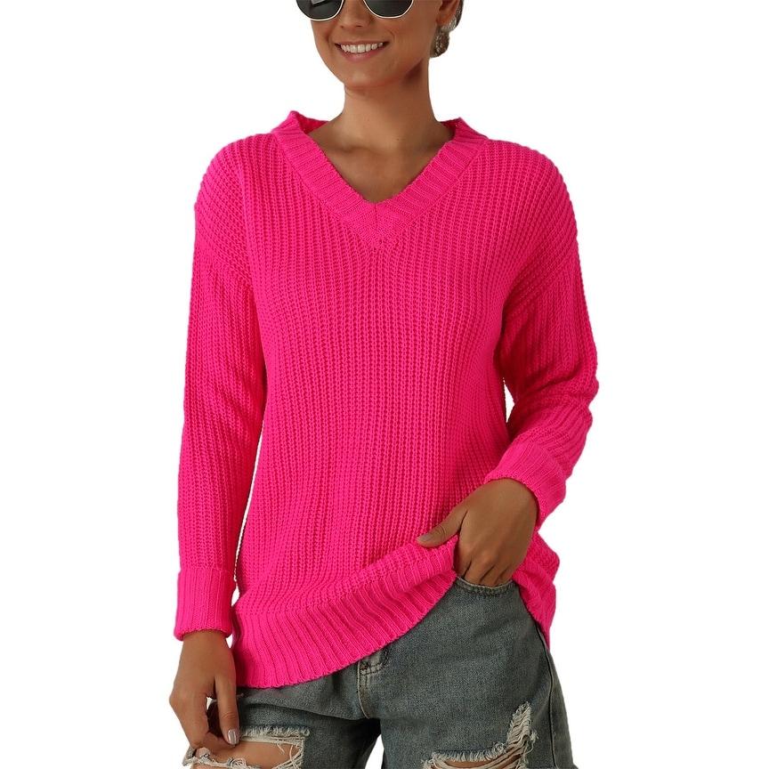 Pink Women's Sweaters | Find Great Women's Clothing Deals
