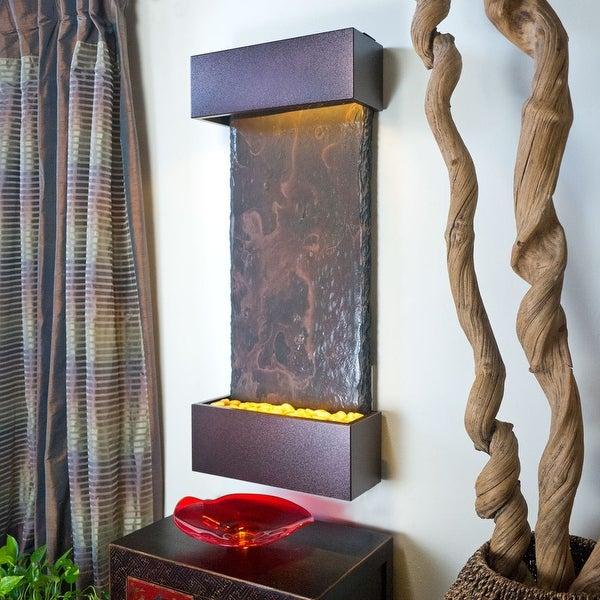 Nojoqui Falls Lightweight Medium Fountain Shroud Finish Copper Vein Powder Coate