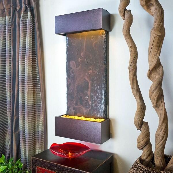 Nojoqui Falls Lightweight Medium Fountain Shroud Finish Copper Vein Powder Coated
