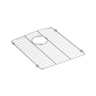 "Kohler K-5186-ST Kennon 13-5/8"" x 16-1/2"" Stainless Steel Basin Rack - STAINLESS STEEL - N/A"