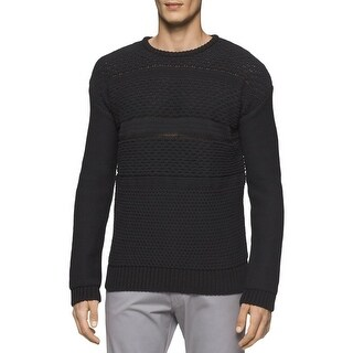 Calvin Klein Mens Pullover Sweater Knit Textured (2 options available)