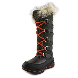 Guess Hadly Round Toe Canvas Winter Boot
