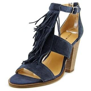 Lucky Brand Leesha Women Open-Toe Leather Mules