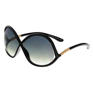 Tom Ford FT0372 01B IVANNA Black Square Sunglasses