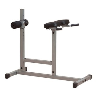 Body-Solid Powerline Roman Chair and Back Hyperextension - metal