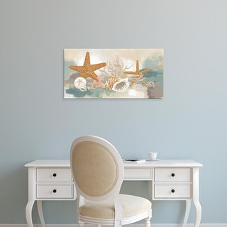 Easy Art Prints June Erica Vess's 'Marine Tableau I' Premium Canvas Art