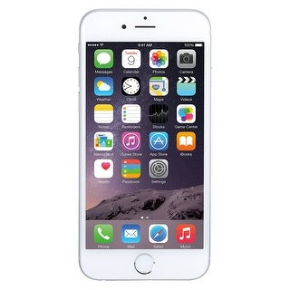 Apple iPhone 6 Plus 64GB Unlocked GSM Phone w/ 8MP Camera - Silver (Certified Refurbished)