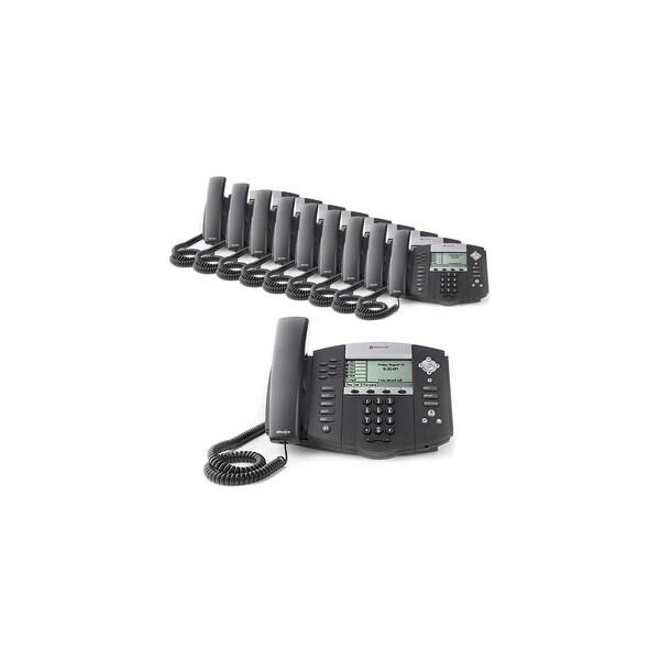 Polycom 2200-12560-025 (10 Pack) SoundPoint IP 560 4-Line IP Phone (POE)