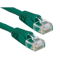 Cable Leader  2 ft. Cat5e 350 MHz UTP Snagless Patch Cable, Green