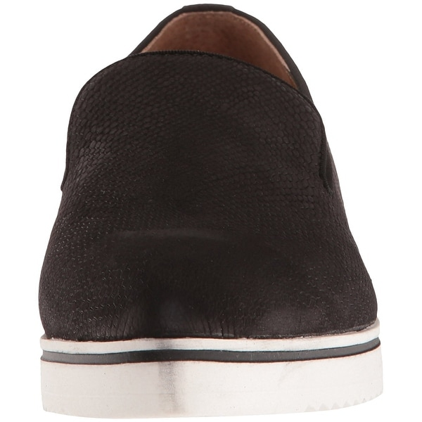 Franco Sarto Womens Fabrina Leather Pointed Toe Loafers