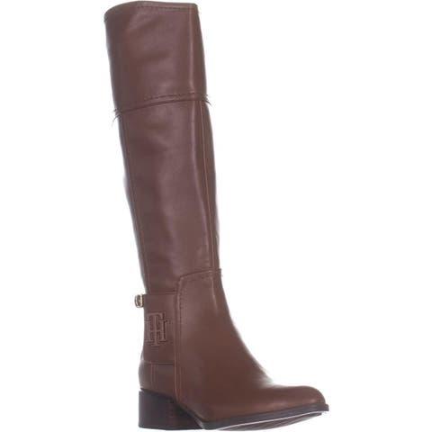 Tommy Hilfiger Merritt Knee High Boots, Medium Brown
