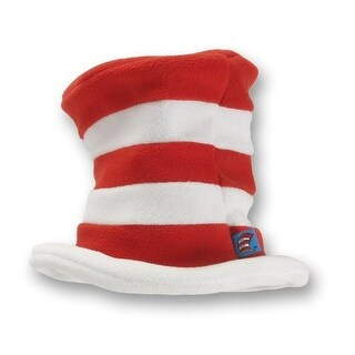 Cat in Hat Toddler Costume Plush Hat - Red