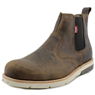 Levi's Chelsea Logger Round Toe Leather Boot