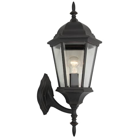 1 Light Outdoor Wall Lantern in Oil Rubbed Bronze
