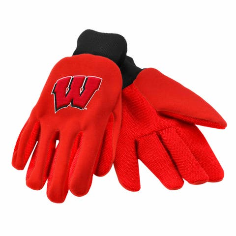 Wisconsin Badgers Utility Gloves