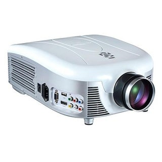 Widescreen LED Projector with 140 in. Viewing Screen