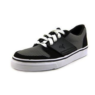 Puma El Ace 2 Pn Youth Round Toe Leather Black Sneakers