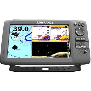 Lowrance 000-12668-001 Hook-9 Fishfinder No Transducer HOOK-9 Fishfinder