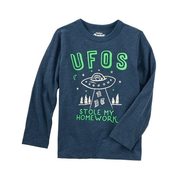 ffc549dd2be Shop OshKosh B gosh Little Boys  Originals Glow-in-the-Dark Graphic ...