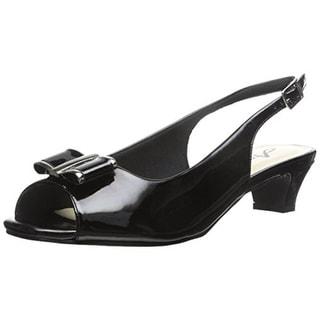 Annie Womens Dress Sandals Bow Slingback