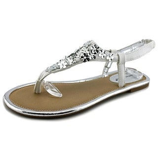 Rampage Girls Carmelisa Youth Open Toe Synthetic Thong Sandal