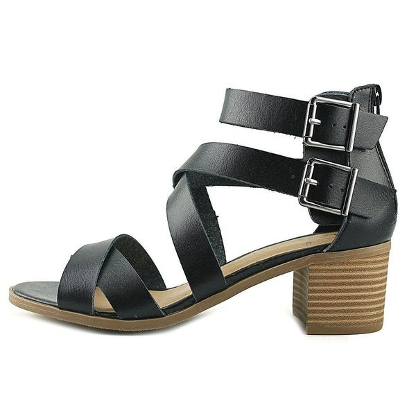 Material Girl Womens Danee Open Toe Casual Strappy Sandals