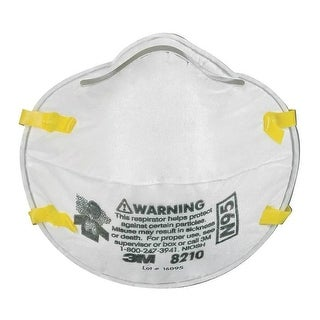 3M 8210PB1-A Particulate Dust Respirators, N95, 20-Pack