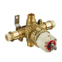 American Standard R129 Pressure Balance Rough Valve Body Only with CPVC Inlets/Universal Outlets
