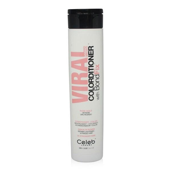 Celeb - Viral Pastel Rose Gold Hybrid Toner Conditioner 8.25 Oz