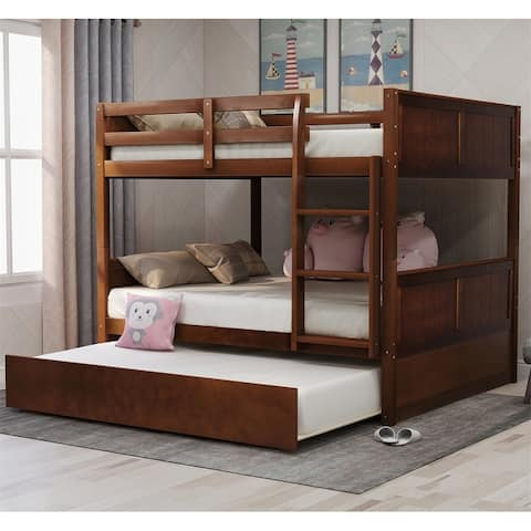 Taylor & Olive Vervain Full-over-Full Bunk Bed with Trundle